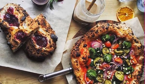 Vegan pizza Brighton